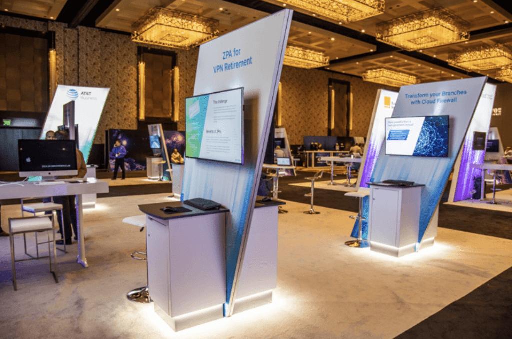 Custom Sponsor Kiosk Booth Fabrication